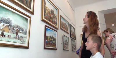 Maľovaný spev rodnej zeme, Výstava insitného umenia z Kovačice (Srbsko).